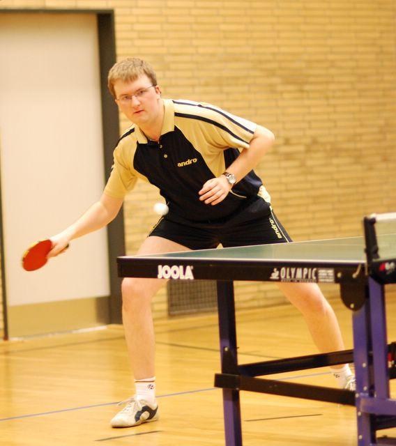 Matthias Friebe (RX VI) - erfolgreich in seinem 1. Einzel gegen Wellinghofen.
