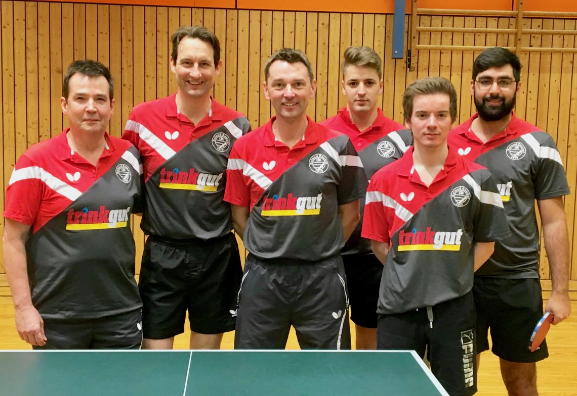 DJK Roland Rauxel II (v.l.n.r.): Bernd Graz, Christian Chroscinski, Christian Bojak, Maxi Bauer, Thomas Zobiegala, Karo Ali